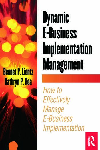 Dynamic E-Business Implementation Management book cover