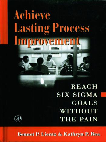 Achieve Lasting Process Improvement book cover