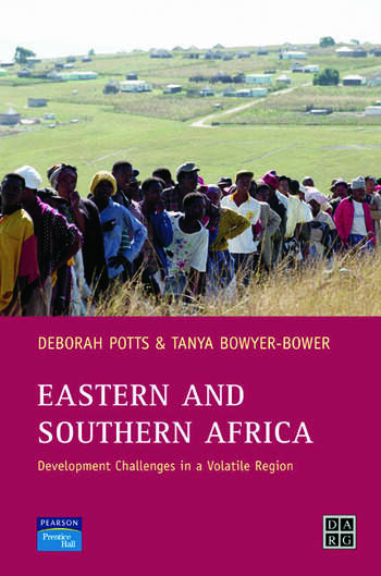Eastern and Southern Africa Development Challenges in a volatile region book cover