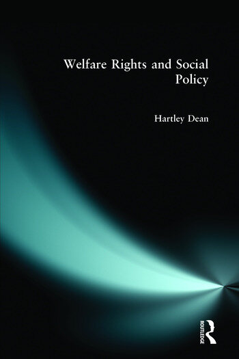 Welfare Rights and Social Policy book cover