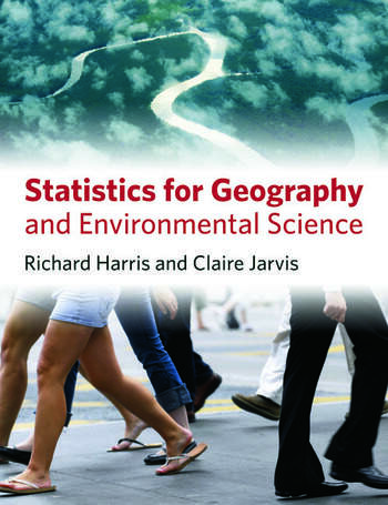 Statistics for Geography and Environmental Science book cover
