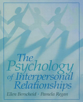 The Psychology of Interpersonal Relationships book cover