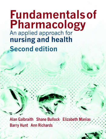 Fundamentals of Pharmacology An Applied Approach for Nursing and Health book cover