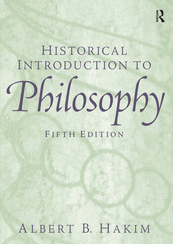 Historical Introduction to Philosophy book cover