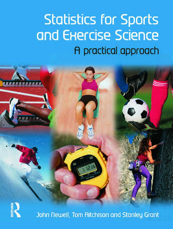 Statistics for Sports and Exercise Science A Practical Approach book cover