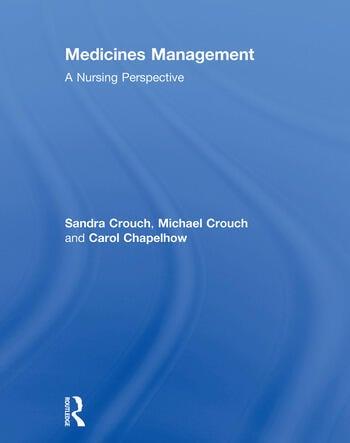 Medicines Management A Nursing Perspective book cover