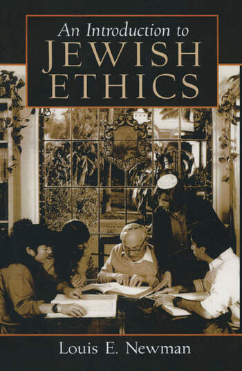 Introduction to Jewish Ethics book cover