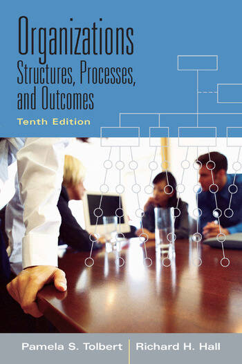 Organizations Structures, Processes and Outcomes book cover