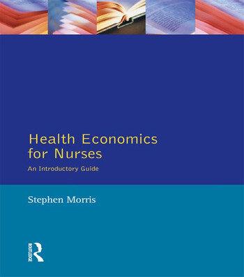 Health Economics For Nurses Intro Guide book cover