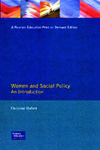 Women And Social Policy book cover
