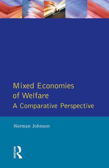 Mixed Economies Welfare book cover