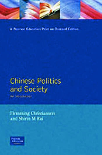 Chinese Politics and Society An Introduction book cover
