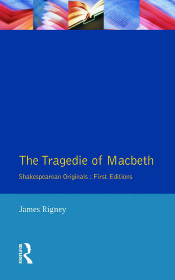 The Tragedie of Macbeth The Folio of 1623 book cover