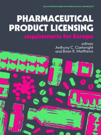 Pharmaceutical Product Licensing Requirements for Europe book cover