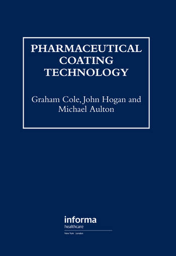 Pharmaceutical Coating Technology book cover