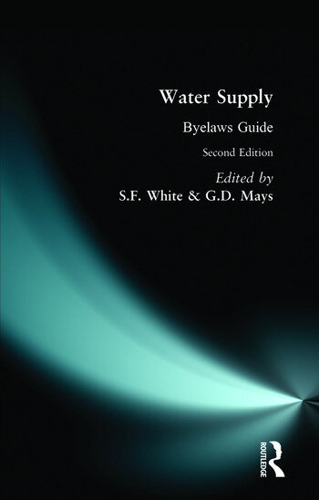 Water Supply Byelaws Guide book cover
