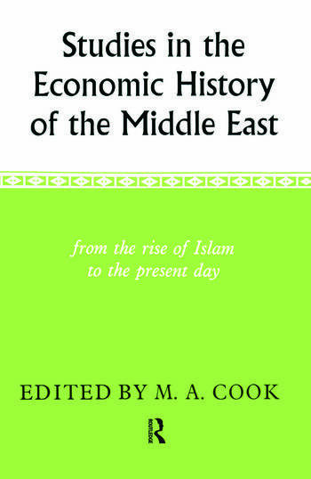Studies in the Economic History of the Middle East book cover