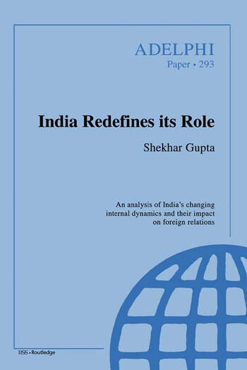 India Redefines its Role book cover