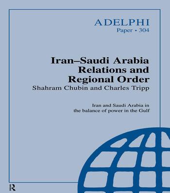 Iran-Saudi Arabia Relations and Regional Order book cover