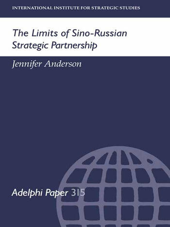 The Limits of Sino-Russian Strategic Partnership book cover