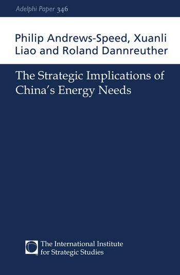 The Strategic Implications of China's Energy Needs book cover