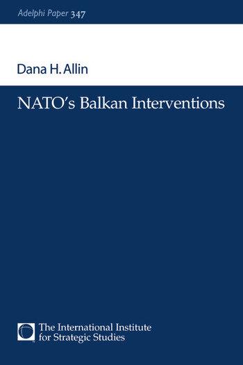 NATO's Balkan Interventions book cover