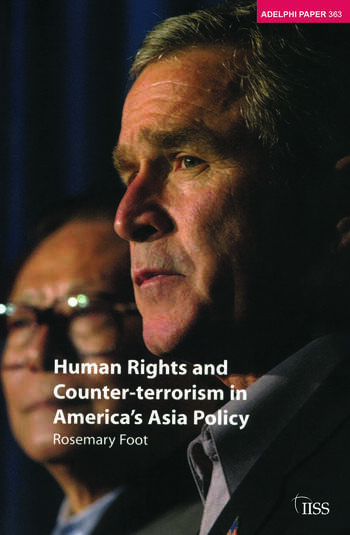 Human Rights and Counter-terrorism in America's Asia Policy book cover
