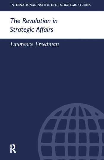 The Revolution in Strategic Affairs book cover