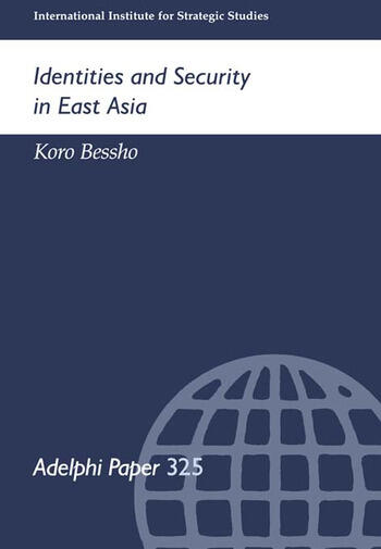 Identities and Security in East Asia book cover