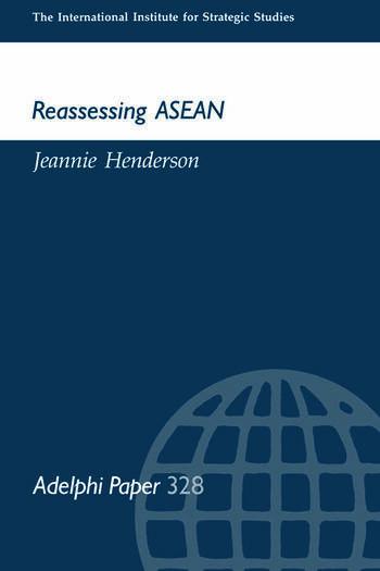 Reassessing ASEAN book cover