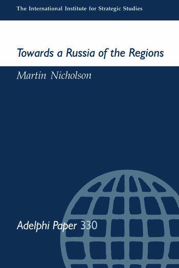 Towards a Russia of the Regions book cover