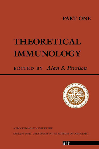 Theoretical Immunology, Part One book cover