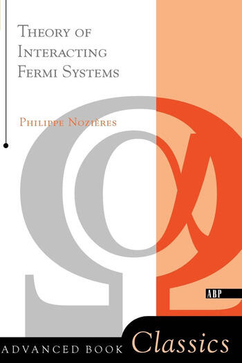 Theory Of Interacting Fermi Systems book cover