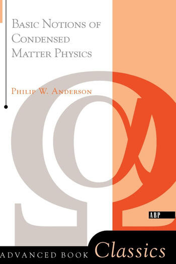 Basic Notions Of Condensed Matter Physics book cover