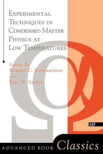Experimental Techniques In Condensed Matter Physics At Low Temperatures book cover