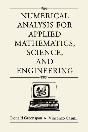 Numerical Analysis book cover