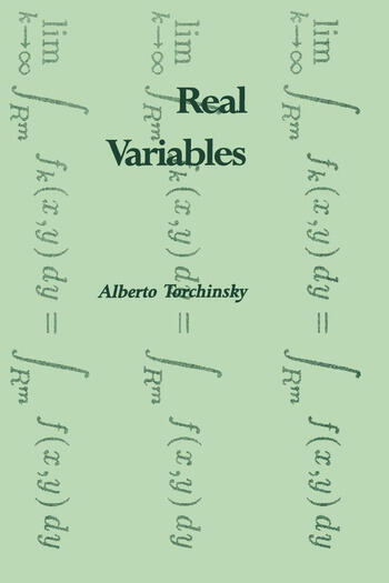 Real Variables book cover