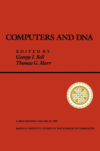 Computers and DNA book cover