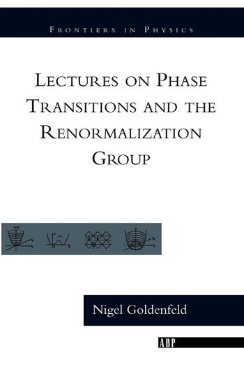 Lectures On Phase Transitions And The Renormalization Group book cover