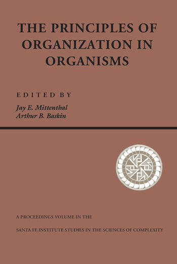 Principles Of Organization In Organisms book cover