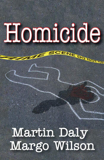 Homicide Foundations of Human Behavior book cover