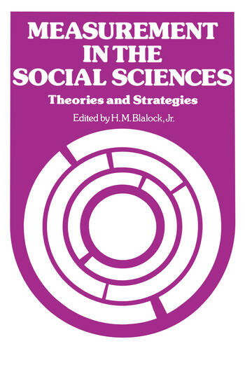 Measurement in the Social Sciences book cover