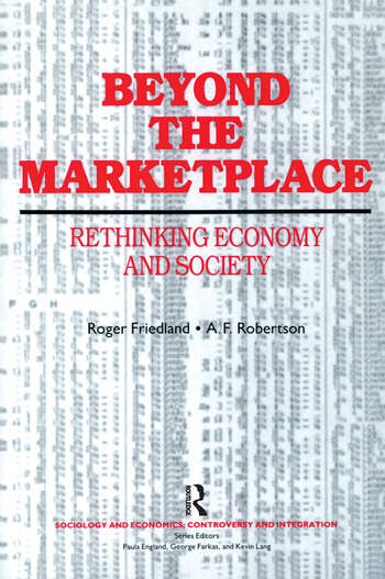Beyond the Marketplace book cover