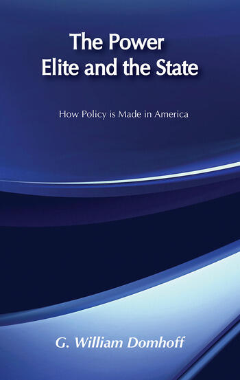 The Power Elite and the State book cover