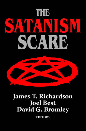 The Satanism Scare book cover