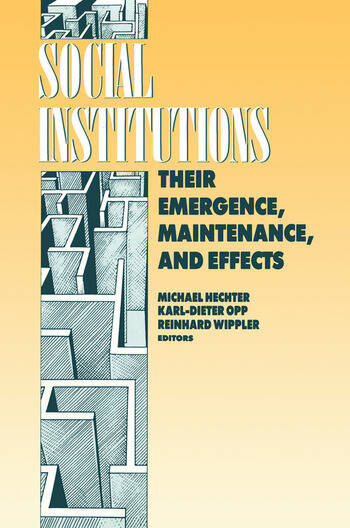 Social Institutions book cover