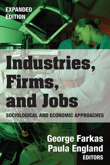 Industries, Firms, and Jobs book cover