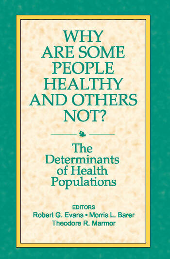 Why are Some People Healthy and Others Not? book cover