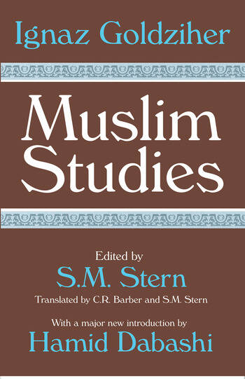 Muslim Studies Volume 1 book cover