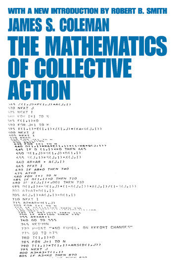 The Mathematics of Collective Action book cover
